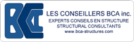 Logo Les conseillers BCA inc. - Structural consultants